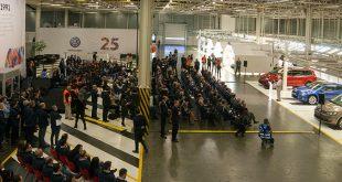 Volkswagen Autoeuropa celebrou 25 anos