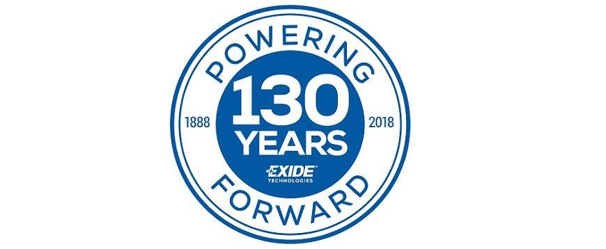 Exide comemora 130º aniversário