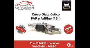 Car Academy e Tiagorochauto realizam formação de DPF e Adblue