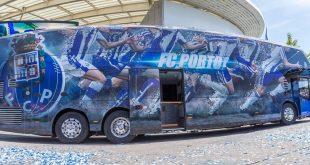 MAN Bus Modification Center adapta o novo autocarro do F. C. Porto