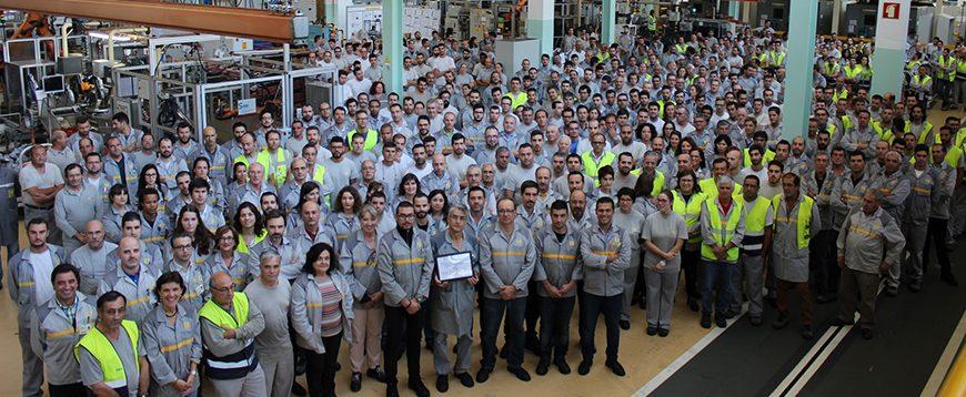 Cacia é a melhor fábrica de caixas de velocidades da Aliança Renault-Nissan