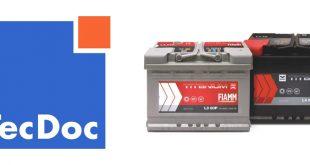 FIAMM passa a estar disponível no TecDoc