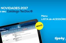 Nova funcionalidade no Catálogo TecDoc Online