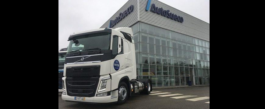 Auto Sueco entrega primeiro Volvo FH LNG em Portugal (com vídeo)