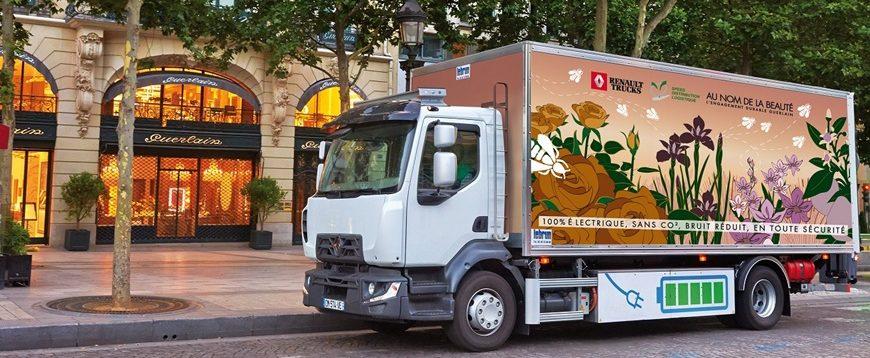 Renault Trucks inicia venda de camiões elétricos em 2019