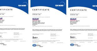 GSVI recebe Certificação da Qualidade
