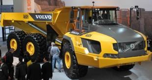 Pneus OTR Goodyear para maior camião articulado Volvo