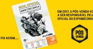 PÓS-VENDA vai editar guia oficial do Expomecânica 2017