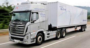Hyundai completa primeira viagem de camião em condução autónoma