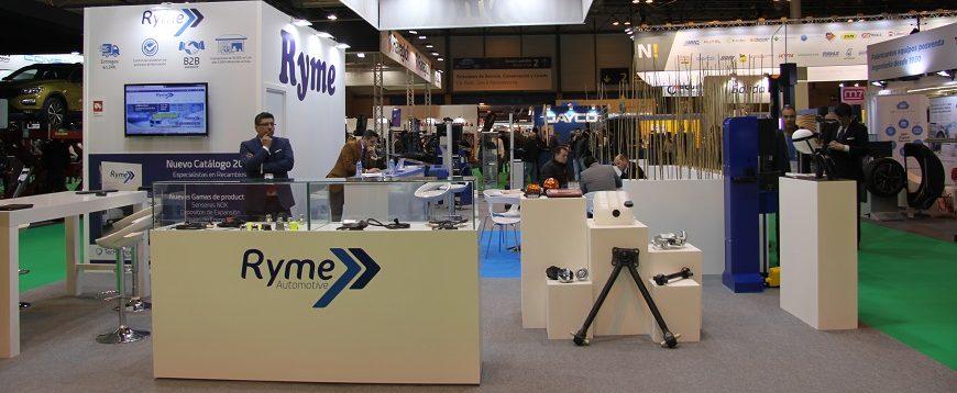 Ryme levou nova gama de sensores NOX à Motortec