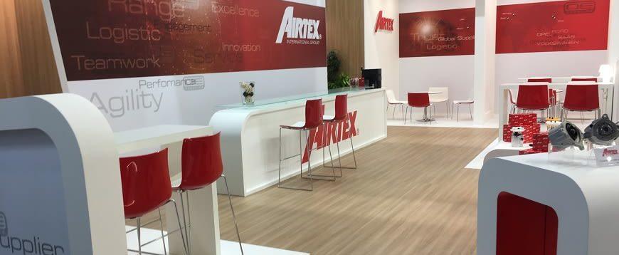 Airtex satisfeita com presença na Automechanika Frankfurt