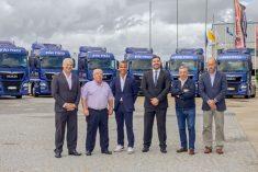 João Pires adquire 10 novos MAN TGX