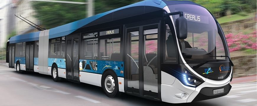 Iveco Bus fornece primeiro CREALIS In-Motion-Charging