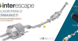 Nova imagem e novas ponteiras na Interescape para a Expomecânica