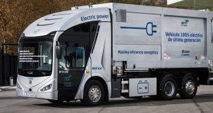 Irizar lança novo camião elétrico ie truck