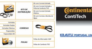 Krautli Portugal incorpora ContiTech na sua oferta