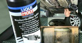Solução Liqui Moly para limpeza de filtro de partículas [vídeo]