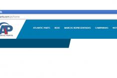 Novo website Atlantic Parts
