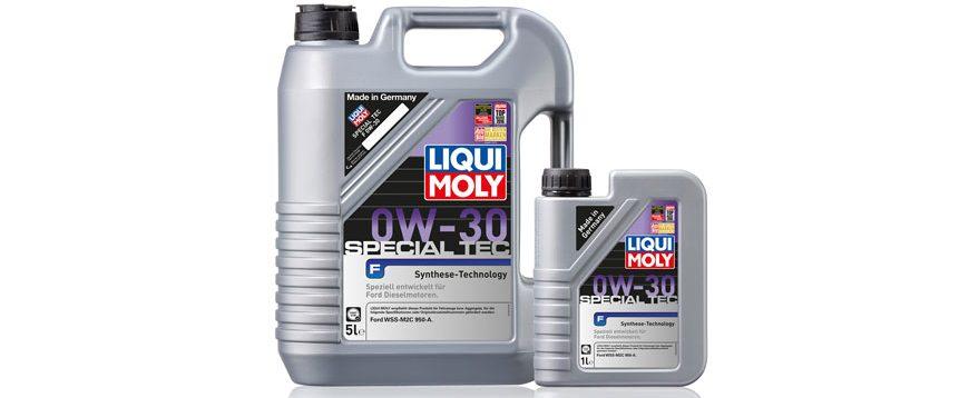 Novo óleo especial Liqui Moly para modelos Ford