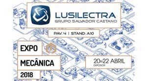 Lusilectra marca presença no Expomecânica 2018
