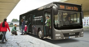 MAN Lion's City garante poupança de combustível