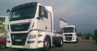 Mota-Engil adquiriu 9 camiões MAN