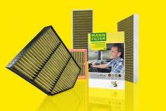 Gama de filtros de cabine MANN-FILTER FreciousPlus para comerciais e pesados
