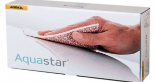 Mirka lança novo abrasivo flexível Aquastar Soft