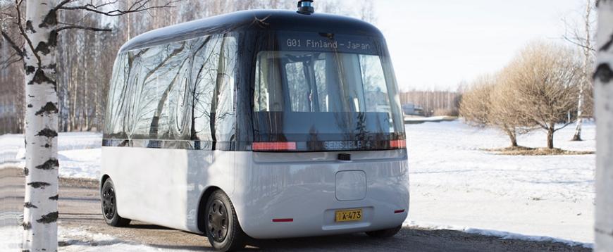 MUJI e Sensible 4 lançam primeiro autocarro autónomo para todas as condições meteorológicas