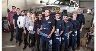 "Alunos da Meyle levam Mercedes W124 ao Rallye ""Dust & Diesel"""