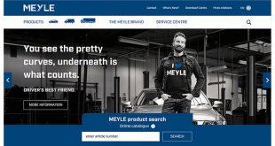 Novo website completa o relançamento da marca Meyle