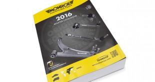 Monroe apresenta novo catálogo de peças de suspensão