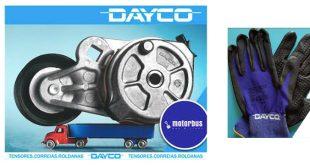 Motorbus com campanha Dayco