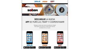 Sogefi disponibiliza aplicações para smartphones e tablets