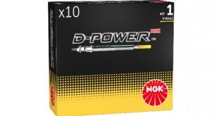 NGK celebra 10 anos da gama D-Power