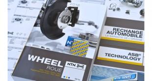 Novo catálogo de rolamentos de roda NTN-SNR
