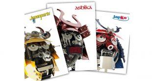 Nova gama de produtos Japanparts, Ashika e Japko