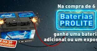 Campanha baterias Prolite na AZ Auto