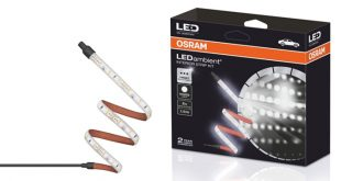 Osram lança lâmpadas LED para personalizar interior dos veículos