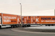 Grupo Kesko reduz as emissões de CO2 com dois MAN TGX