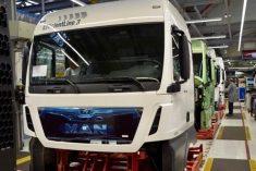 Novos camiões MAN Euro 6 equipados de série com a RIO Box