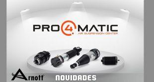 Pro4matic apresenta novos produtos Arnott
