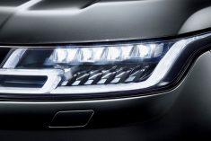Smartrix e luz laser da Osram equipam Range Rover