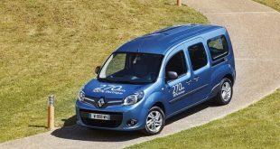 Novo KANGOO Z.E. com maior autonomia e carregamento mais rápido