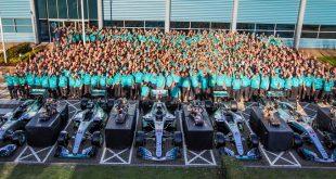 Axalta foi novamente parceiro da Mercedes-AMG Petronas Motorsport em novo título na Fórmula 1