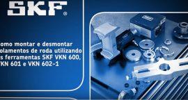 SKF: Como montar e desmontar rolamentos de roda [vídeo]