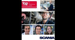 Scania reconhecida como empresa Top Employer pelo 3.º ano consecutivo