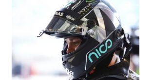 Spies Hecker personaliza capacete de Nico Rosberg