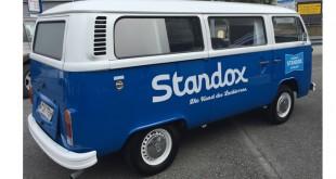 Pão-de-forma restaurada com tintas Standox