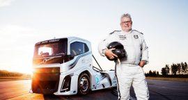 Super camião da Volvo bateu dois recordes de velocidade (com video)